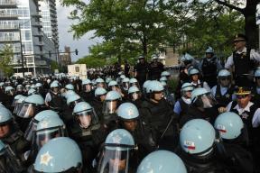NATO Protest Chicago Protestors 52