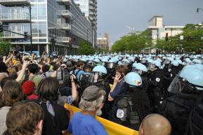 NATO Protest Chicago Protestors 58
