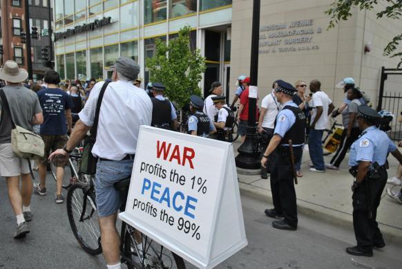 NATO Protest Chicago Protestors 61