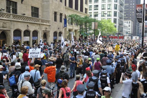 NATO Protest Chicago Protestors 64