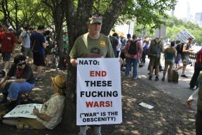 NATO Protest Chicago Protestors 66