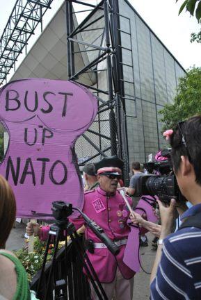 NATO Protest Chicago Protestors 72