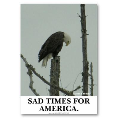 Sad day in America