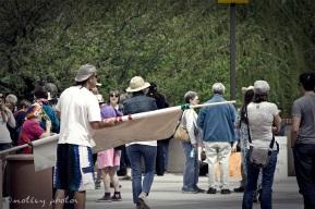 War on Women Santa FE NM 13 Getting ready