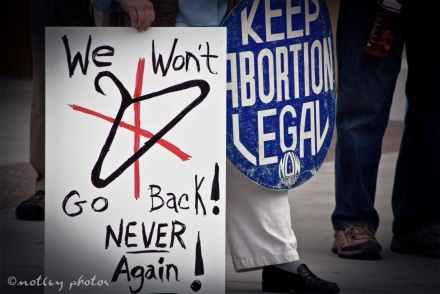 War on Women Santa FE NM 20 no back room abortions no coat hangers