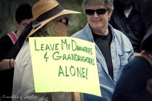 War on Women Santa FE NM 25 leave my daughters and granddaughters alone