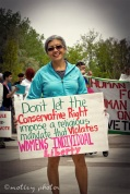 War on Women Santa FE NM 26 sign womens individual liberty
