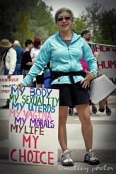 War on Women Santa FE NM 27 sign my choice