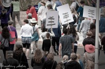 War on Women Santa FE NM 35 March leaving the Roundhouse
