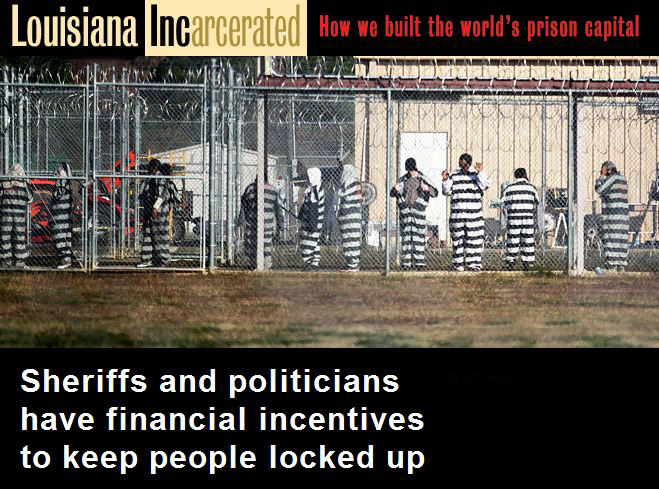 Louisiana | The Prison Capital of the World! 7 Times More