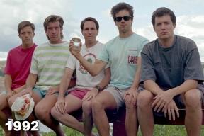 Copco Lake five friends photo tradition 1992