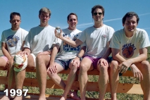 Copco Lake five friends photo tradition 1997
