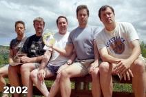 Copco Lake five friends photo tradition 2002