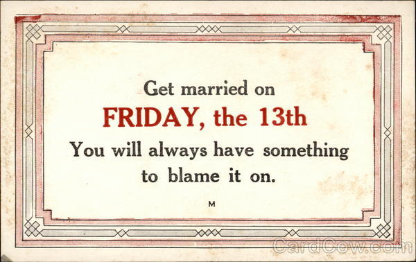 Funnies And Interesting Trivia About Friday The 13th Motley News