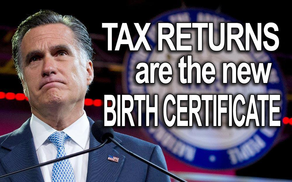 Romney finally releases 2011 tax return: Much silence has a mighty noise