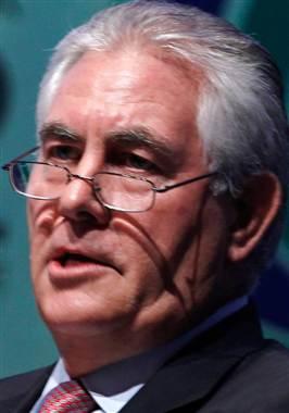 ExxonMobil CEO Rex Tillerson. Credit: Bazuki Muhammad / Reuters