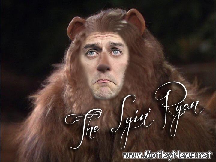 Lyin' Paul Ryan Lion 2