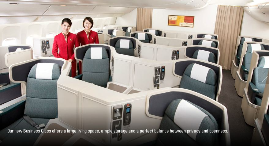 Cathay Pacific 72 Stunden Sale Business Class