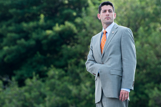 Paul Ryan doing his Napolean Bonaparte stance