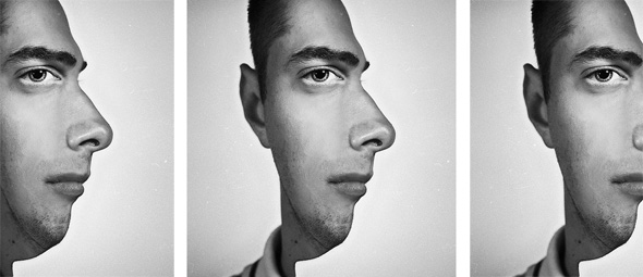 illusion optical face illusions profile amazing looking faces september half parting shot artist right inside really african