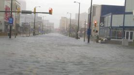 Atlantic City. Streets completely flooded.