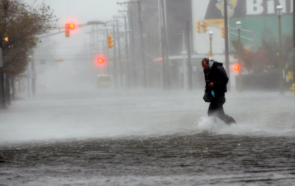 Some Of The More Dramatic Photos From Hurricane Sandy