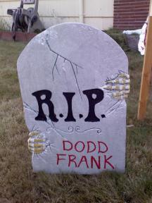 Romney's America RIP 3 RIP Dodd Frank