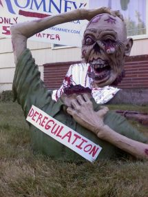 Romney's America RIP deregulation