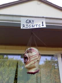 Romney's America RIP gay rights