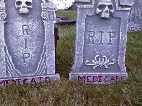 Romney's America RIP medicare medicaid
