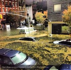 East Village flooding