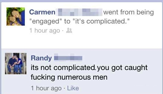 in a relationship funny status for fb