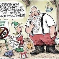 Santa! Don't Eat the Brownies!