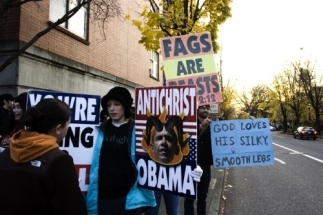 Obama the Anti-Christ. Whatever... But he has silky legs.