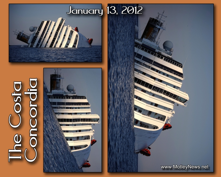 Costa Concordia 3 views