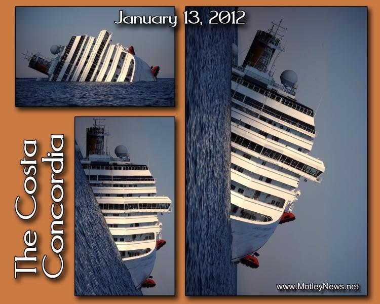 Costa Concordia 3 views