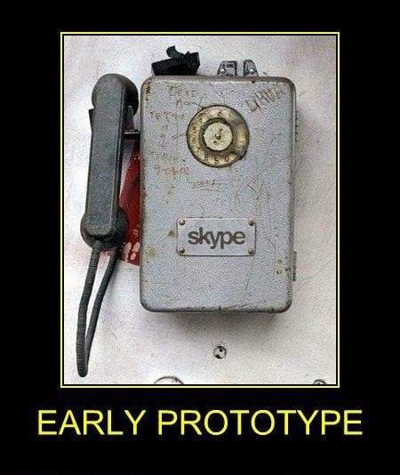 Skype early prototype