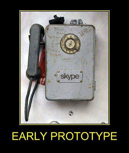 Skype early prototype