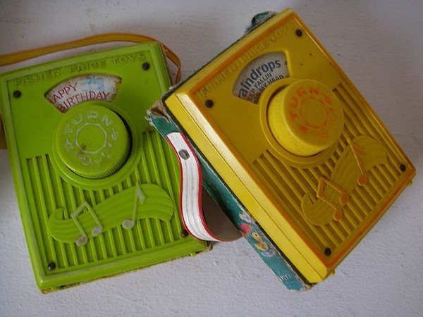70b toys fisher price wind up baby music