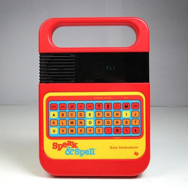 70b toys speak and spell