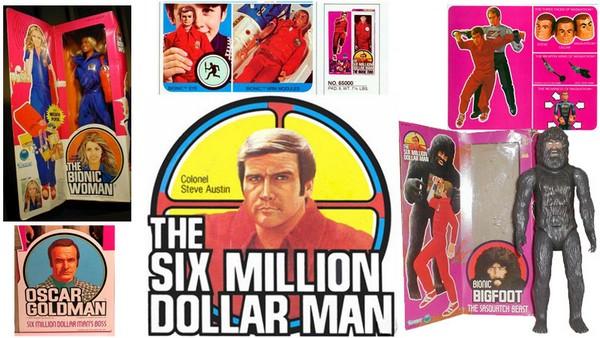 70b toys the six million dollar man