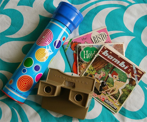 70b toys viewmaster and kaleidescope