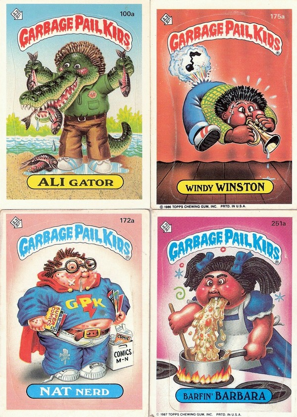 80s garbage pail kids