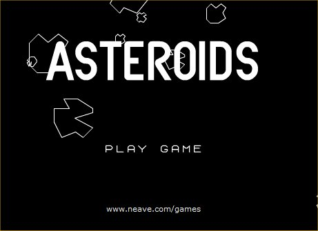 80s video games asteroids