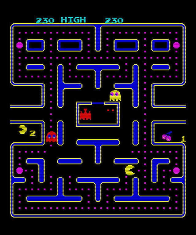 80s video games pacman