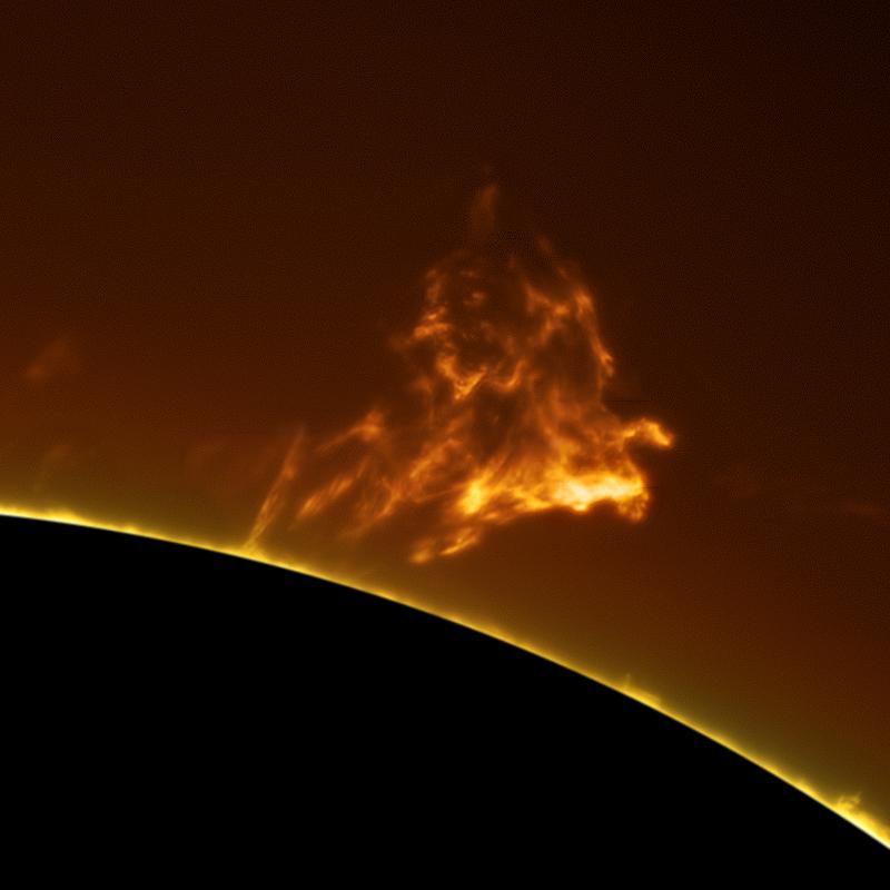astrophotography sun photos 3 closeup gas sun burst
