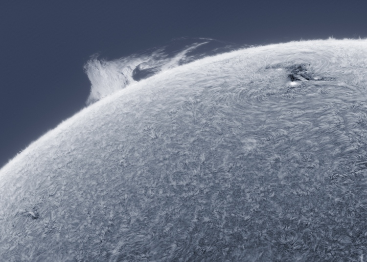 astrophotography sun photos 6 close up looks like pole