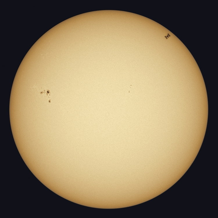 astrophotography sun photos 8 earth satellite ISS transit