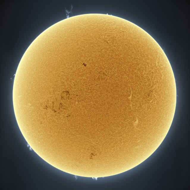 astrophotography sun photos 9 earth satellite ISS transit