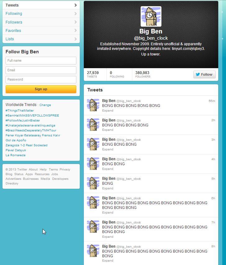 Big Ben (big_ben_clock) on Twitter